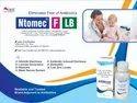 Lactic Acid Bacillus 40million Spores, Riboflavinev1.5mg, Pyridoxine Hcl1mg, Niacinamice50mg, Folic Acid