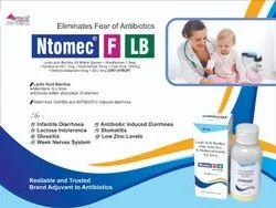 Lactic Acid Bacillus 40million Spores,Riboflavinev1.5mg,Pyridoxine Hcl1mg,Niacinamice50mg,Folic Acid