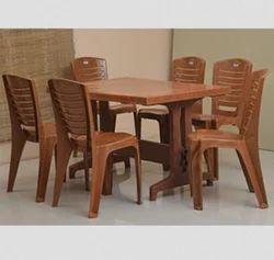 Nilkamal Plastic Dining Table Set