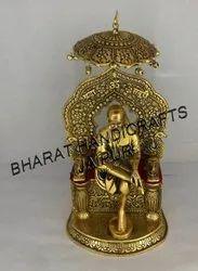 Gold Plated Sai Baba Statue