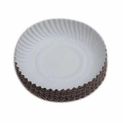 Disposable Paper Plate  sc 1 st  IndiaMART & Disposable Paper Plate Disposable Kagaz Ki Plate - Rajeshwar ...