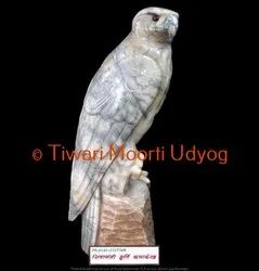 Eagle Statue In White Marble