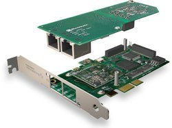 Sangoma 2E1/T1 PRI Card (PCIe) without LEC