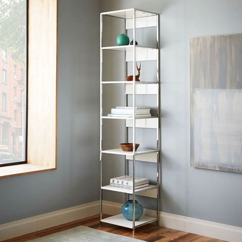 Small Open Lacquer Bookshelf