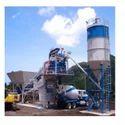 Pan Type Mobile Concrete Batching Plant