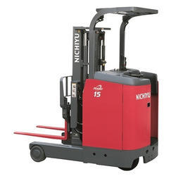 Nichiyu 0.9 to 2.5 Ton Stand On Reach Truck