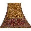 Gujarati Patchwork Quilts - Blankets & Throws -Sari Patchwork Quilt-