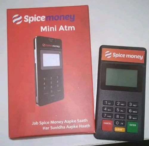 Spice Money Mini - Micro ATM at Rs 6500/unit | Micro ATM, मिनी एटीएम - CRP  Agro Producer Company Limited, New Delhi | ID: 20499168091