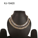 Kaizer Jewellery German Silver Ladies Party Wear Necklace