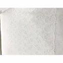 White Chikankari Fabric