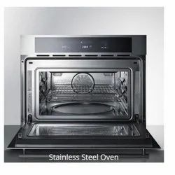 Semi Automatic Stainless Steel Oven