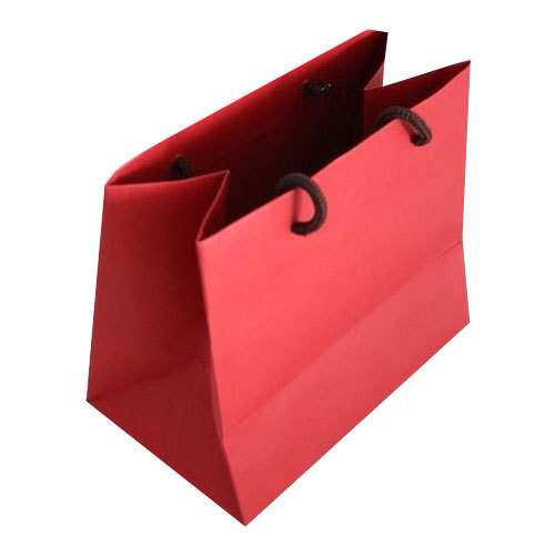 Red Paper Gift Bags At Rs 12 5 Piece