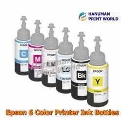 6 Color Printer Ink Bottle