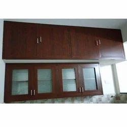 Glass Door Kitchen Cabinet
