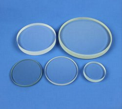 Transparent Round Toughened Glass, Thickness: 16.0 mm