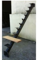 SS Folding Staircase