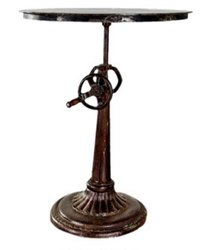 Cast Iron Adjustable Bar Table DIF-1413
