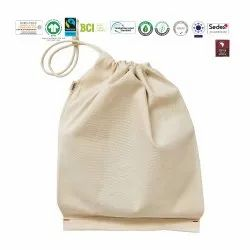 Natural Recycle Organic Cotton Vegetable Bag