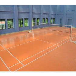 Badminton Vinyl and PVC Court Flooring