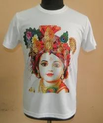 Round Neck Digital Printed T-Shirts