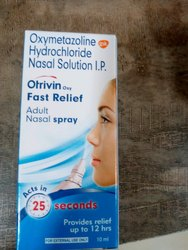 Otrivin Oxy Oxymetazoline Nasal Spray, Packaging Type: Vial, Packaging Size: 10ml