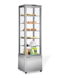 4 Side Glass 5 Layer Panoramic Refrigerated Showcase