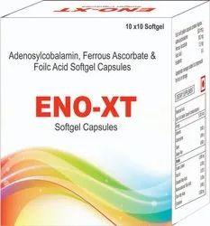 Adenosylcobalamin, Ferrous Ascorbate & Foilc Acid Soft Gel Capsules
