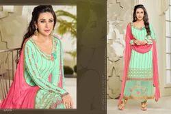 V Neck About Look Salwar Suit