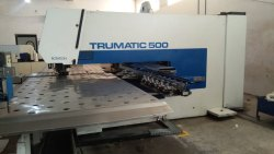 Old Trumpf Trumatic 500 Turret Punching Machine In Running Condition