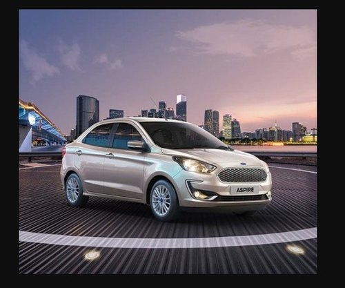 Golden Ford New Aspire Car