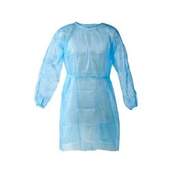 Plastic Isolation Gown, For Medical, Size: Extra-Large