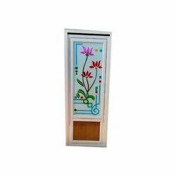 Polished Bathroom PVC Glass Door, Interior