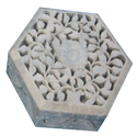 Show As Image Vintage Soapstone Trinket Box, For N / A