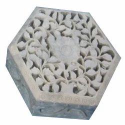Vintage Soapstone Trinket Box
