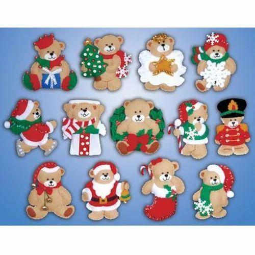 Felt Christmas Ornaments.Felt Christmas Ornaments