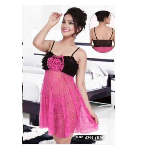7f60765471 Baby Doll Nighty - Short Length Nighty Manufacturer from Ahmedabad