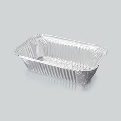 600 mL Aluminum Silver Foil Food Box