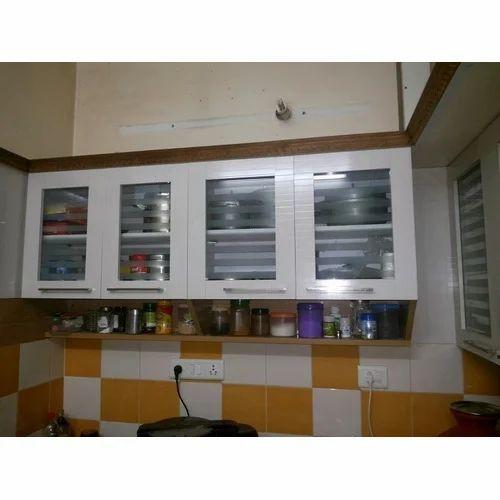 Wooden Modular Kitchen Cabinet Rs 500 Squarefeet Sai Interior Work Id 15003416955