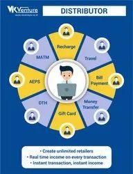 VK Venture Pvt Ltd Lifetime Master Recharge Platform, For Application Use, Depend On Transaction