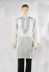 Chikan embroidered Men's Kurta