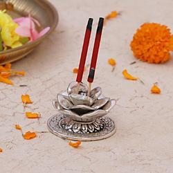 Rose Bud Incense Holder
