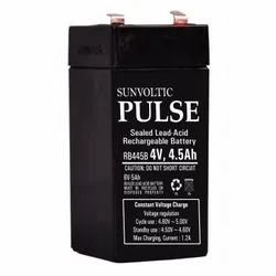 Sun Voltic Pulse Sealed Lead Acid Rechargeable Battery, 4.5 Ah, 4 V