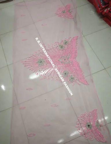 Heavy Beaded Blouse Fabric