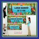 Plastic Flex Banner Printing Services, In Delhi