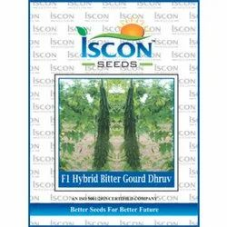 Iscon F1 Hybrid Bitter Gourd Dhruv Seeds, Packaging Type: Packet, Packaging Size: 500g