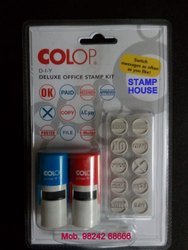 Colop Self Ink Stamp Kit