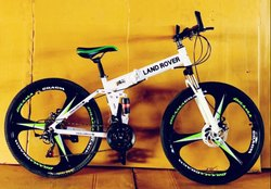 Land Rover White Folding Cycle