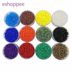 eshoppee multicolor seed bead