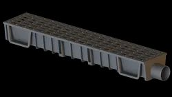 Nylon Drain Channel With Nylon Grating