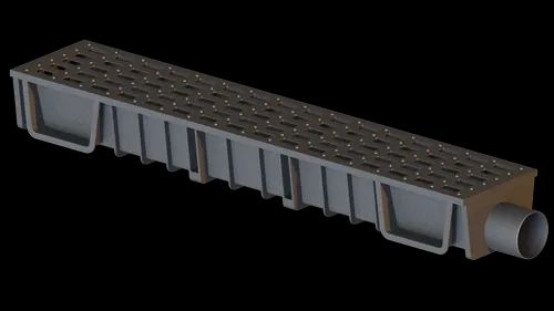 Nylon Terrace Drain Channel - Nylon Drain Channel With Nylon Grating
